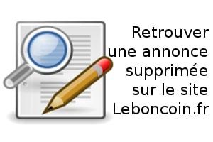 Retrouver Et Récupérer Une Annonce Supprimée Sur Le Bon Coin