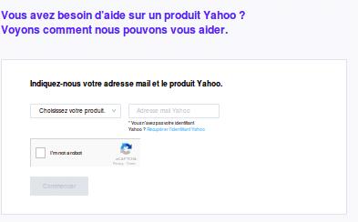 assistance clientele yahoo