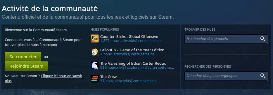 communauté Steam