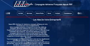 Site internet de la compagnie aérienne