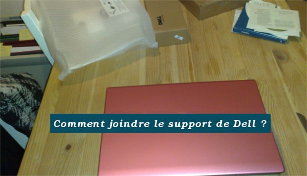 joindre le support de Dell