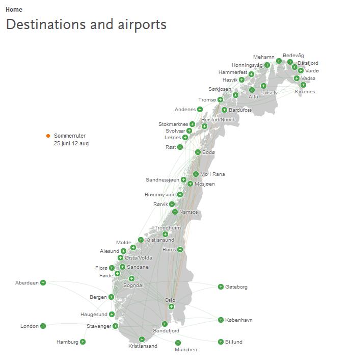 destination et aéroport