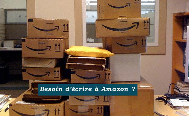 écrire à Amazon