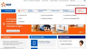Aide et contact - EDF Bleu Ciel