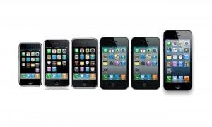Les différentes versions de l'iPhone