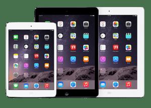 Tablettes ipad Apple