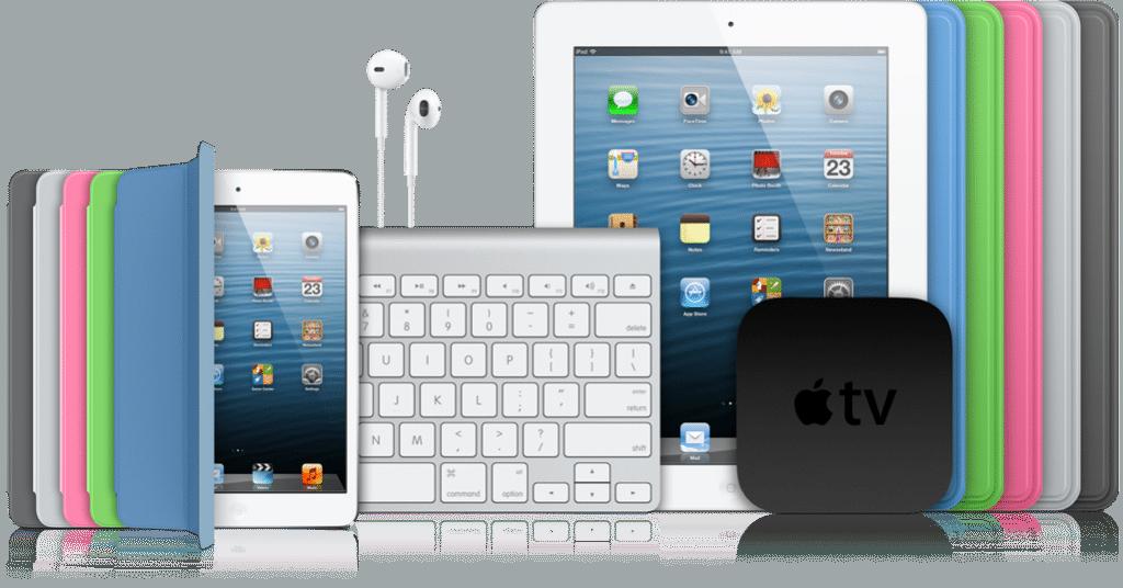 Tablettes iPad d'Apple