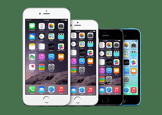 iphone 5 et iPhone 6 Apple