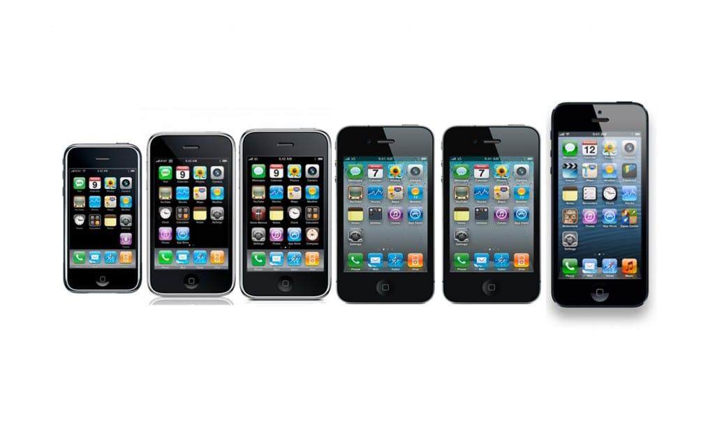 Premières générations d'iPhone