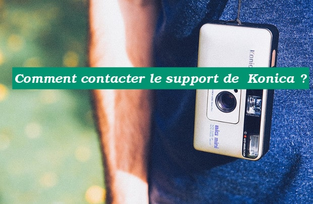 Comment joindre Konica ?