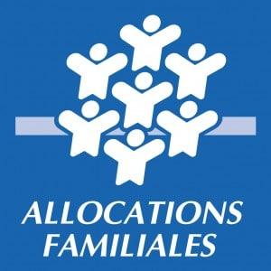 le logo de la CAF (Caisse d'Allocations Familiales)