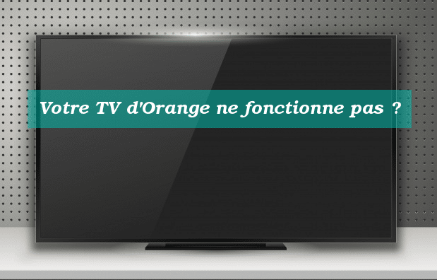 assistance TV orange