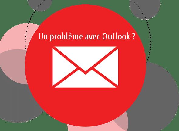 Signaler problème Outlook