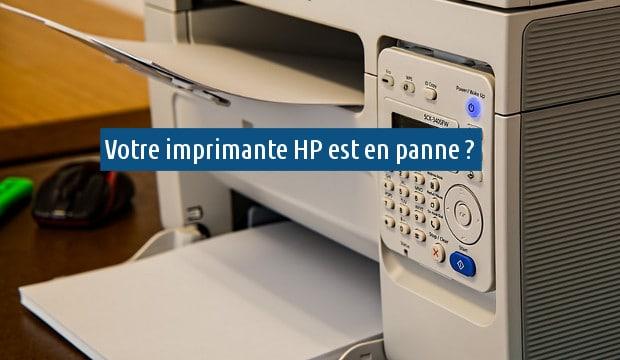 contacter le support de HP