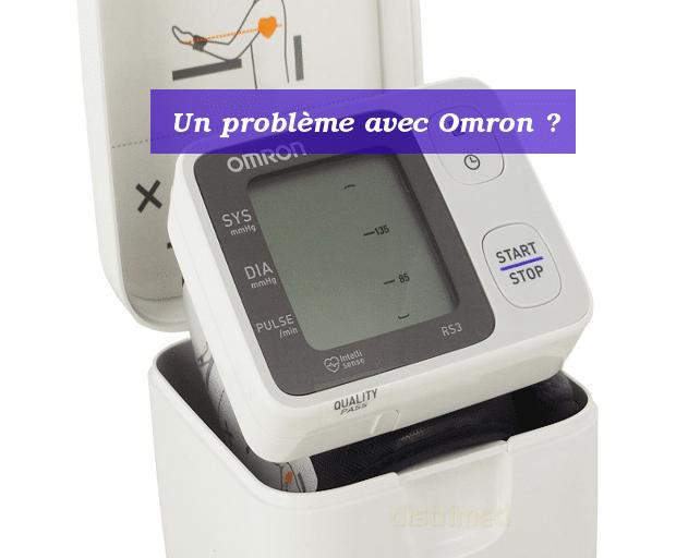 problèmes omron