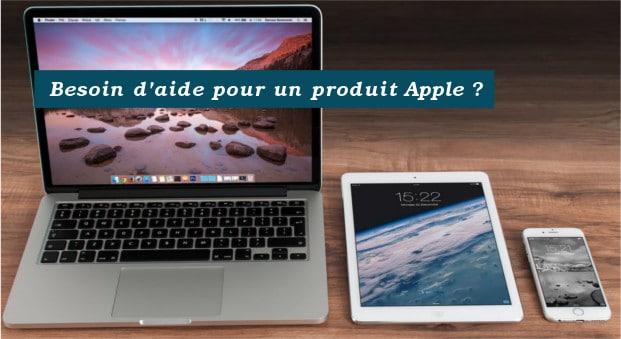 comment écrire à Apple