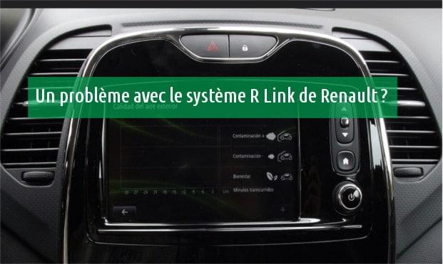 Contacter Renault R-Link