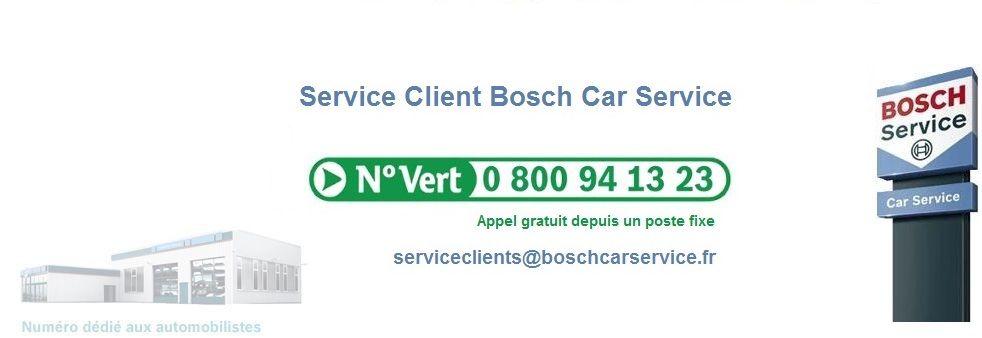 Service Client Bosch Car Services