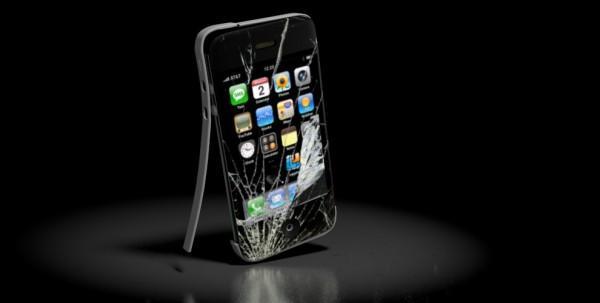 SAV iPhone cassé