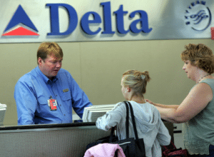 Comptoir Delta Airlines - customers service