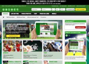 Site officiel Unibet.fr