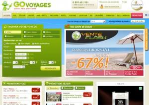 site Go Voyages
