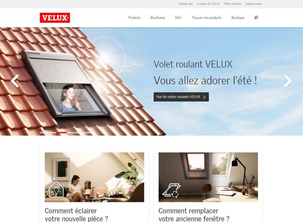 contacter service client velux num ro de t l phone pour. Black Bedroom Furniture Sets. Home Design Ideas