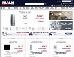 site web Ubaldi