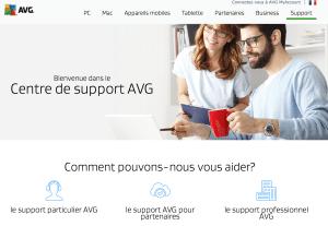 support avg