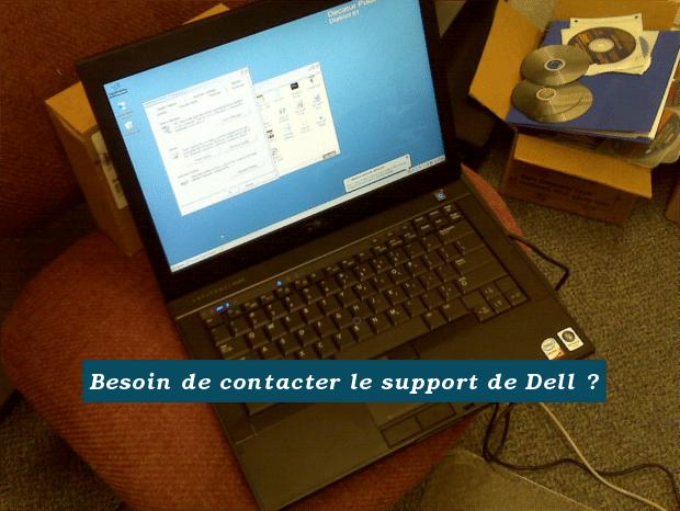 Ecrire à l'assistance de Dell