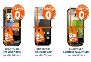 Téléphones proposés par Simyo
