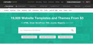 Site internet Themeforest