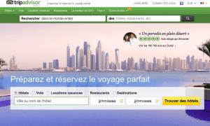 Site internet Tripadvisor