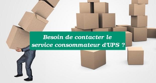 Service consommateur UPS