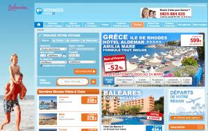 Site internet Leclerc Voyage