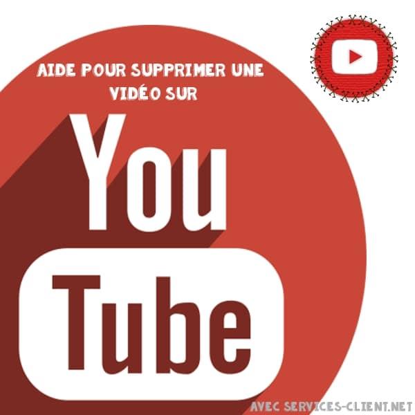 Supprimer une vidéo sur youtube